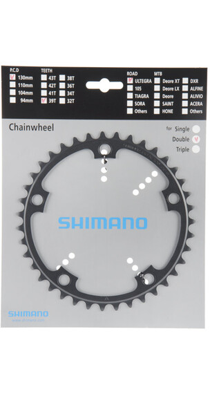 Shimano Ultegra FC-6601 Corona dentata grigio